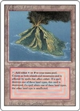 Magic the Gathering 3rd Ed (Revised) Single Volcanic Island UNPLAYED (NM/MT)