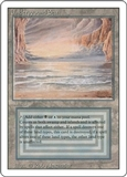 Magic the Gathering 3rd Ed (Revised) Single Underground Sea - HEAVY PLAY (HP)