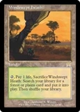 Magic the Gathering Onslaught Single Windswept Heath - SLIGHT PLAY (SP)