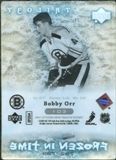 2007/08 Upper Deck Trilogy #103 Bobby Orr /799