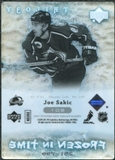 2007/08 Upper Deck Trilogy #108 Joe Sakic /799