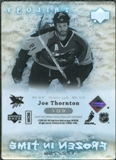 2007/08 Upper Deck Trilogy #109 Joe Thornton /799