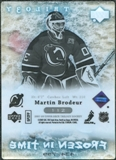 2007/08 Upper Deck Trilogy #112 Martin Brodeur /799