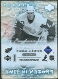 2007/08 Upper Deck Trilogy #114 Nicklas Lidstrom /799