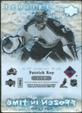 2007/08 Upper Deck Trilogy #115 Patrick Roy /799