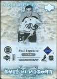 2007/08 Upper Deck Trilogy #116 Phil Esposito /799