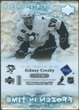 2007/08 Upper Deck Trilogy #118 Sidney Crosby /799