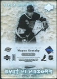 2007/08 Upper Deck Trilogy #120 Wayne Gretzky /799 Frozen in Time FIT