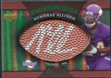 2007 Upper Deck Sweet Spot Pigskin Signatures Green #AA Aundrae Allison Auto /50