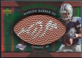 2007 Upper Deck Sweet Spot Pigskin Signatures Green #BA Marion Barber /50