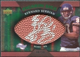 2007 Upper Deck Sweet Spot Pigskin Signatures Green #BB Bernard Berrian Autograph /50