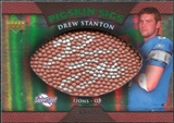 2007 Upper Deck Sweet Spot Pigskin Signatures Green #DS Drew Stanton /75