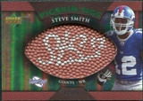 2007 Upper Deck Sweet Spot Pigskin Signatures Green #SS Steve Smith Autograph /75