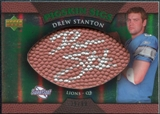 2007 Upper Deck Sweet Spot Pigskin Signatures Green #DS Drew Stanton /99