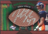2007 Upper Deck Sweet Spot Pigskin Signatures Green #JL John Lynch /99