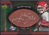 2007 Upper Deck Sweet Spot Pigskin Signatures Green #KS Kolby Smith Autograph /99