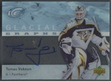 2007/08 Upper Deck Ice Hockey Tomas Vokoun Auto