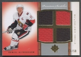 2007/08 Upper Deck Ultimate Collection Hockey Daniel Alfredsson Jersey #03/50