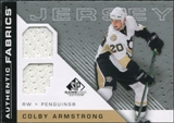 2007/08 Upper Deck SP Game Used Authentic Fabrics #AFCA Colby Armstrong