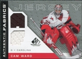 2007/08 Upper Deck SP Game Used Authentic Fabrics #AFCW Cam Ward