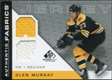 2007/08 Upper Deck SP Game Used Authentic Fabrics #AFGM Glen Murray