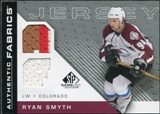 2007/08 Upper Deck SP Game Used Authentic Fabrics #AFRS Ryan Smyth