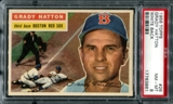 1956 Topps Baseball #26 Grady Hatton PSA 8 (NM-MT) *3861