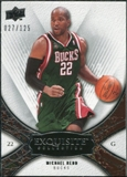 2008/09 Upper Deck Exquisite Collection #32 Michael Redd /125