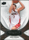 2008/09 Upper Deck Exquisite Collection #35 Andrea Bargnani /125