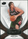 2008/09 Upper Deck Exquisite Collection #37 Andrew Bogut /125