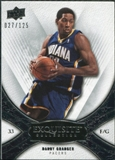 2008/09 Upper Deck Exquisite Collection #50 Danny Granger /125