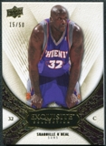 2008/09 Upper Deck Exquisite Collection Gold #17 Shaquille O'Neal 15/50