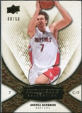 2008/09 Upper Deck Exquisite Collection Gold #35 Andrea Bargnani /50