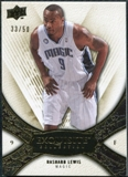 2008/09 Upper Deck Exquisite Collection Gold #40 Rashard Lewis /50