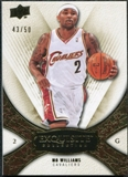 2008/09 Upper Deck Exquisite Collection Gold #47 Mo Williams /50
