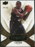 2008/09 Upper Deck Exquisite Collection Gold #48 Elton Brand /50