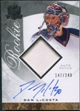 2008/09 Upper Deck The Cup #88 Dan LaCosta Rookie Patch Auto /249