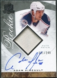 2008/09 Upper Deck The Cup #93 Adam Pineault Rookie Patch Auto /249