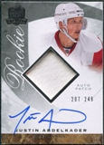 2008/09 Upper Deck The Cup #98 Justin Abdelkader Rookie Patch Auto /249