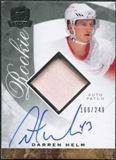 2008/09 Upper Deck The Cup #101 Darren Helm Rookie Patch Auto /249