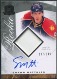 2008/09 Upper Deck The Cup #103 Shawn Matthias Rookie Patch Auto /249