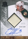 2008/09 Upper Deck The Cup #111 Colton Gillies Rookie Patch Auto /249