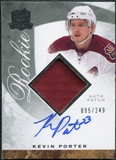 2008/09 Upper Deck The Cup #129 Kevin Porter Rookie Patch Auto /249