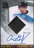 2008/09 Upper Deck The Cup #131 Alex Goligoski Rookie Patch Auto /249