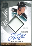 2008/09 Upper Deck The Cup #134 Jamie McGinn Rookie Patch Auto /249