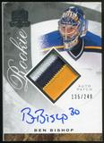 2008/09 Upper Deck The Cup #137 Ben Bishop Rookie Patch Auto 135/249