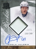 2008/09 Upper Deck The Cup #142 Nikolai Kulemin Rookie Patch Auto /249