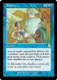 Magic the Gathering Mercadian Masques Single Bribery UNPLAYED (NM/MT)