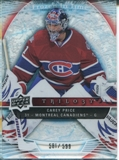 2009/10 Upper Deck Trilogy #103 Carey Price FIT /599