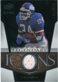 2008 Upper Deck Icons Legendary Icons Jersey Silver #LI15 Ottis Anderson /150